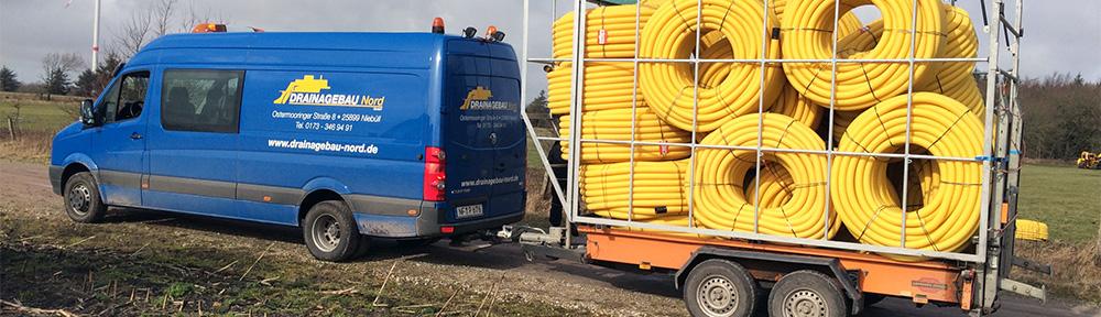 Drainagebau-Nord - Betrieb für Dränagebau, Erdbau und Kulturbau.